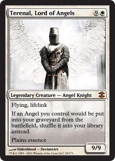 Terenal, Lord of Angels